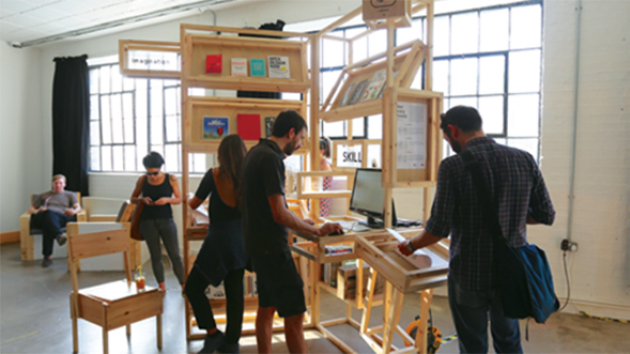 """""""MAKERS LIBRARY NETWORK"""" İSTANBUL'DA"""